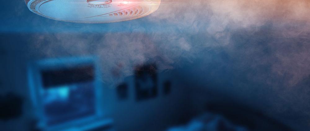 Rauchmelder in der Küche